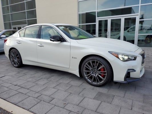Infiniti Of Sanford >> 2019 Infiniti Q50 Red Sport 400