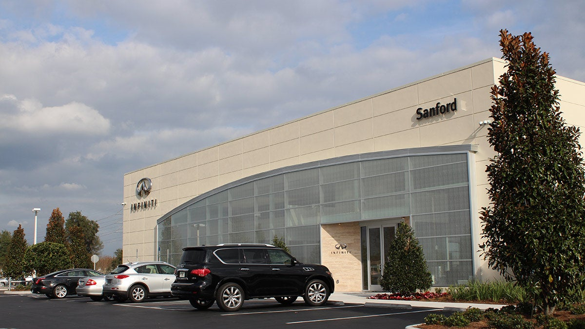 Infiniti Of Sanford >> About Sanford Infiniti Luxury Car Dealership